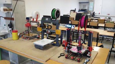 As 3 impresoras