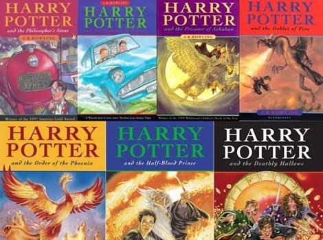 Resultat d'imatges de llibres harry potter