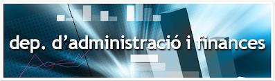 Departament d'Administració i Finances