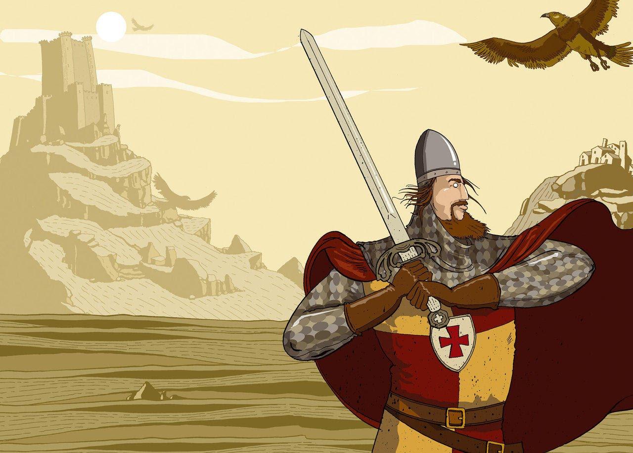 Qu sabes de el cid lengua castellana y literatura sa for La leyenda del cid