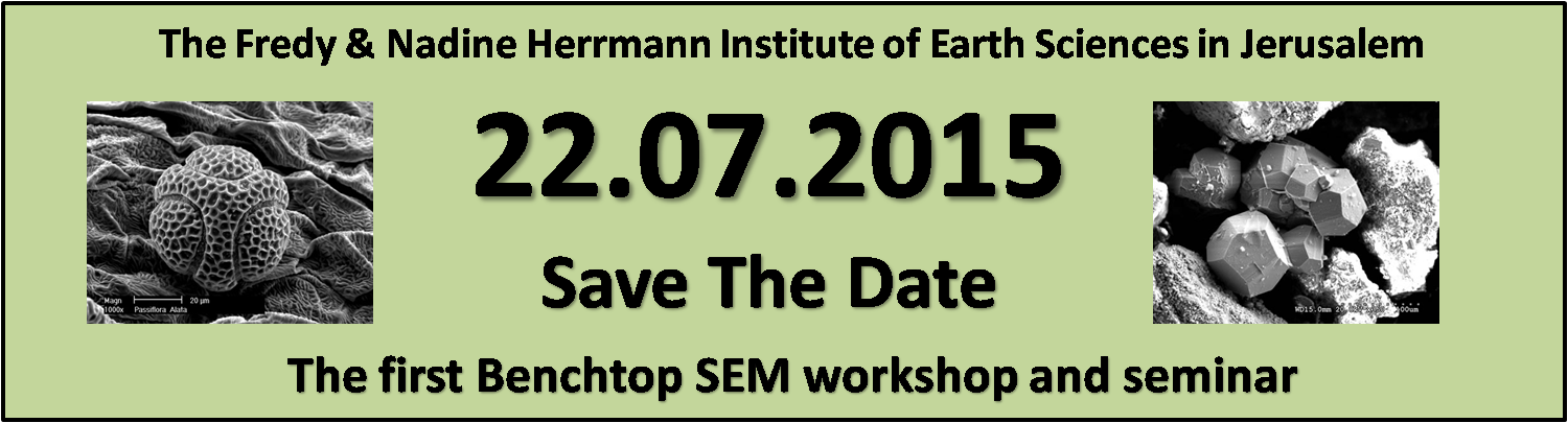 The first Benchtop SEM workshop and seminar