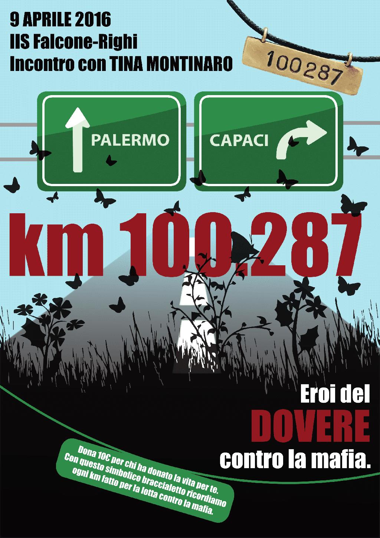 QS15-km100287 Manifesto Braccialetto IIS Falcone-Righi di Corisco