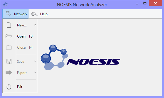 NOESIS Network Analyzer - Noesis