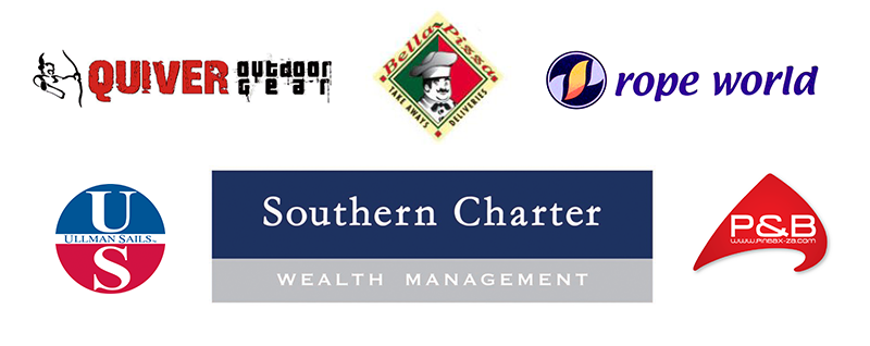 IMPERIAL YACHT CLUB PROUDLY SPONSORED BY SOUTHERN CHARTER, QUIVER, ROPE WORLD, ULLMAN SAILS, PIN BAX