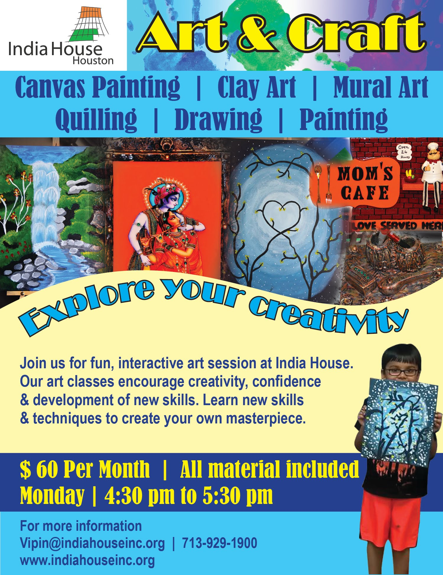 Art Craft Classes India House Houston Official Site