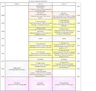 JEDCON 2016 schedule