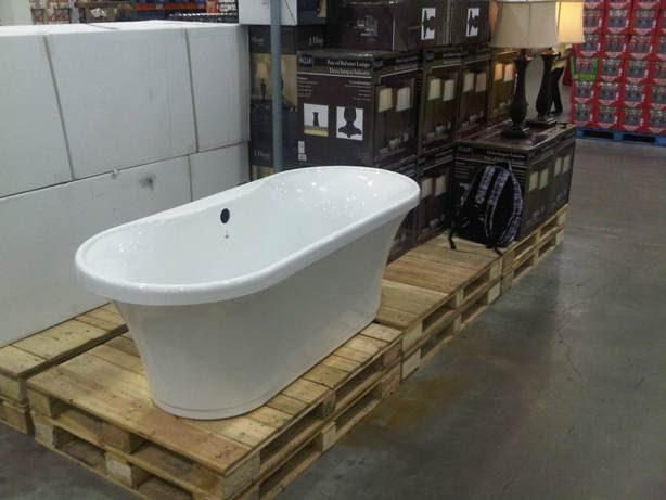 Costco  More reno deals   Costco  Dual Flush toilet  89  Bathtub   399 curved shower rod  29. Costco  More reno deals   Costco  Dual Flush toilet  89  Bathtub