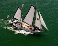 Thunderbird 5, Yacht, Gaff-rigged ketch, Windjammer, Disaster relief vessel, International Rescue Group