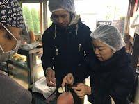 美濃屋 Minoya TOFU factory tour 〜 tasting fresh TOFU and soy milk