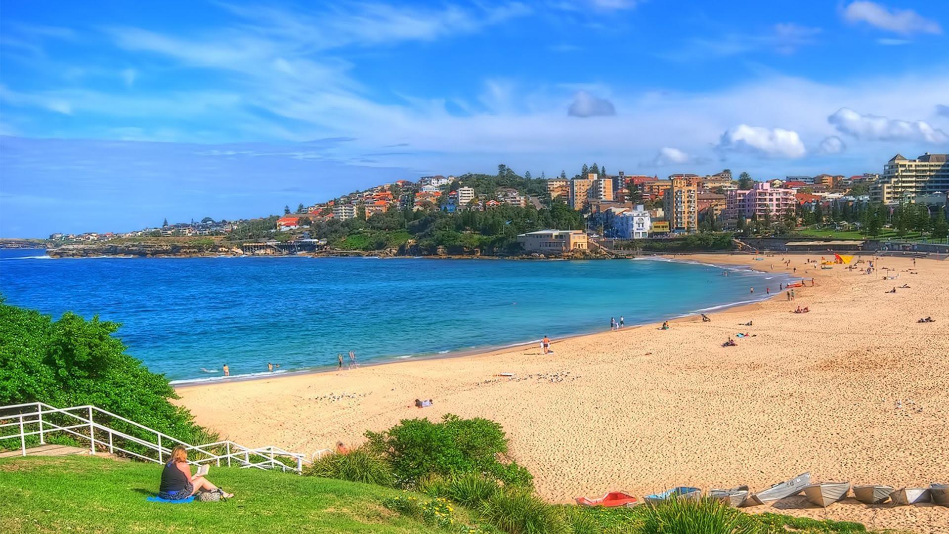 Parque nacional de la playa nudista de Sydney
