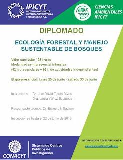 ECOLOGIA FORESTAL Y MANEJO SUSTENTABLE DE BOSQUES