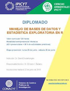 MANEJO DE BASES DE DATOS Y ESTADISTICA EXPLORATORIA EN R