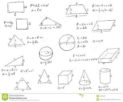Geometry Formulas 8th Grade Math
