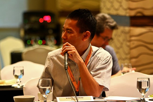 Dr. Yoichi Kato, workgroup leader of Drought and Submergence workgroups.