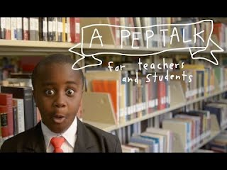 Kid President's Pep Talk to Teachers and Students