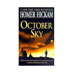 theme in october sky The movie october sky deals with a lot of themes that still exist in societies all over the world today one of the main themes and perhaps the most obvious is the inspiring idea of chasing one's dream and never giving up until success is found.