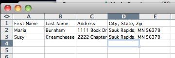 Creating Mailing Labels from Excel to Word - ISD47 Tech Tips