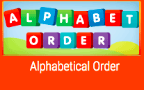Alphabetical Order graphic
