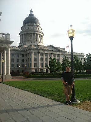 The Utah State Capitol, Salt Lake City, Summer 2013