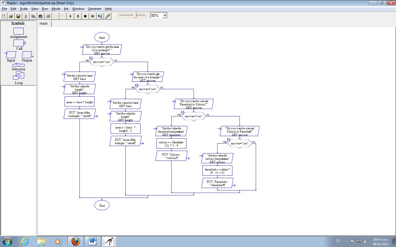 raptor flowcharts