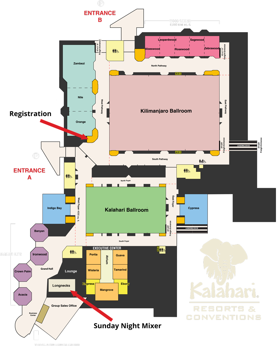 Kalahri Map