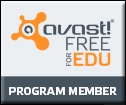 Avast logo with link to open in new window