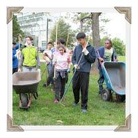 Chouteau Island Cleanup