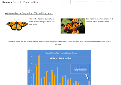 2nd Place Butterfly Project Website