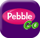 logo and link for pebble go