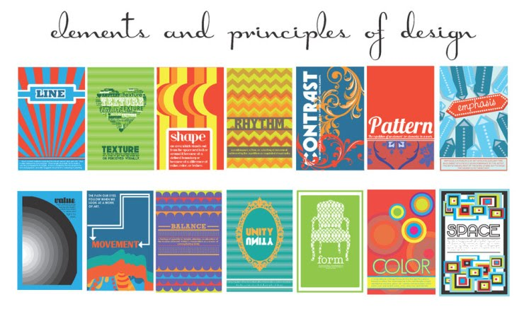 Elements And Principles Of Art And Design : Elements of art and principles design ms snyder s