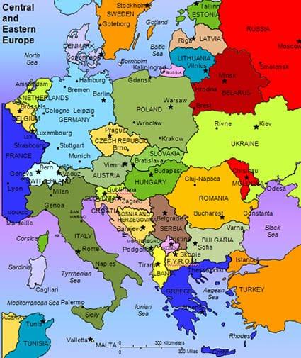 Maps   Eastern Europe