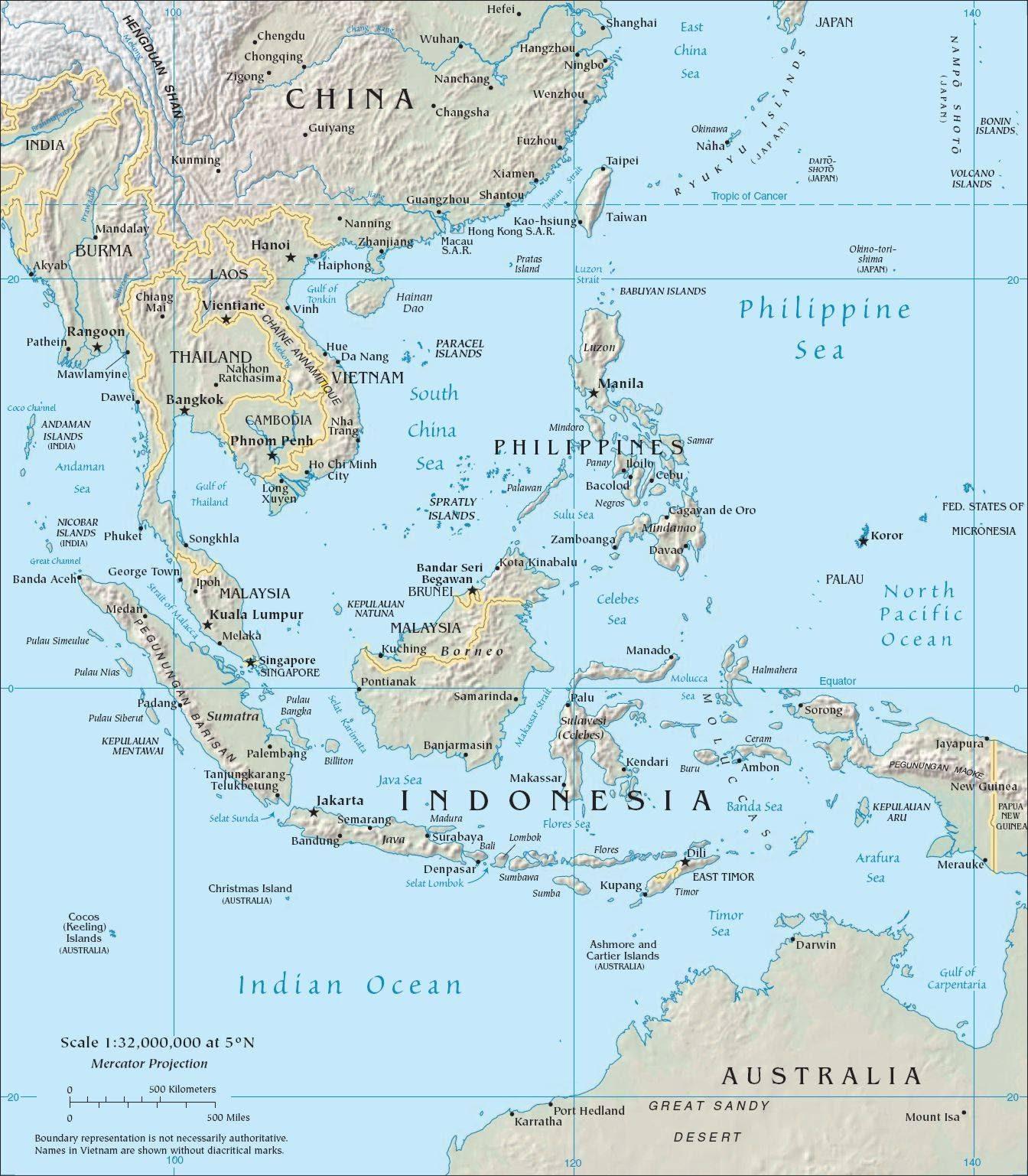 Google Map Southeastern Us - Map of southeast us