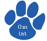Class List 2014-2015