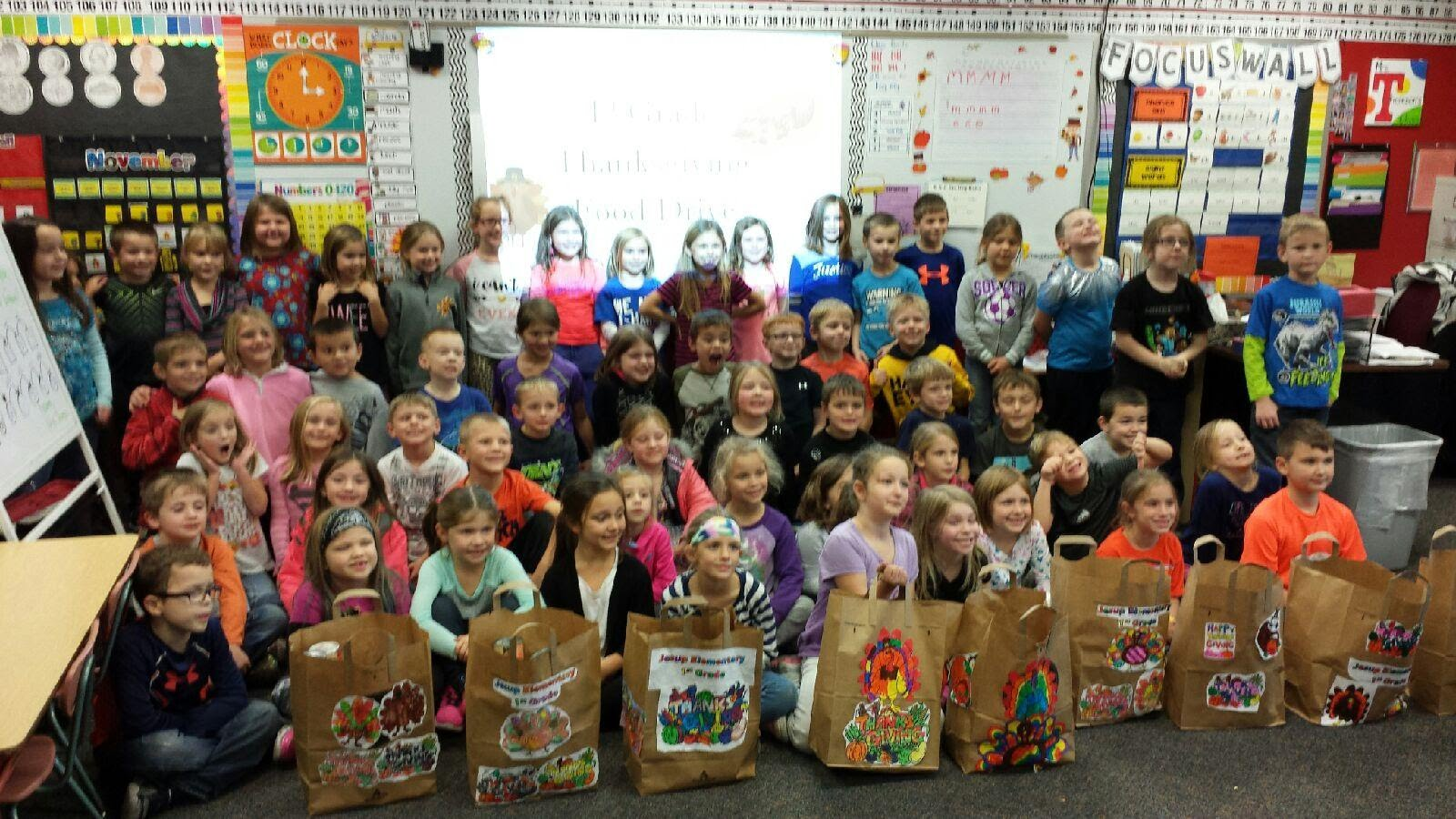 Food Drive Service Learning Project
