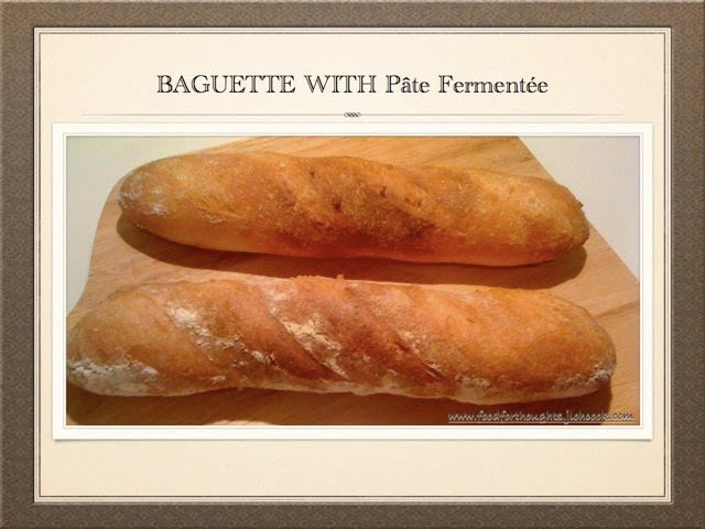 baguettes with p 226 te ferment 233 e food for thoughts