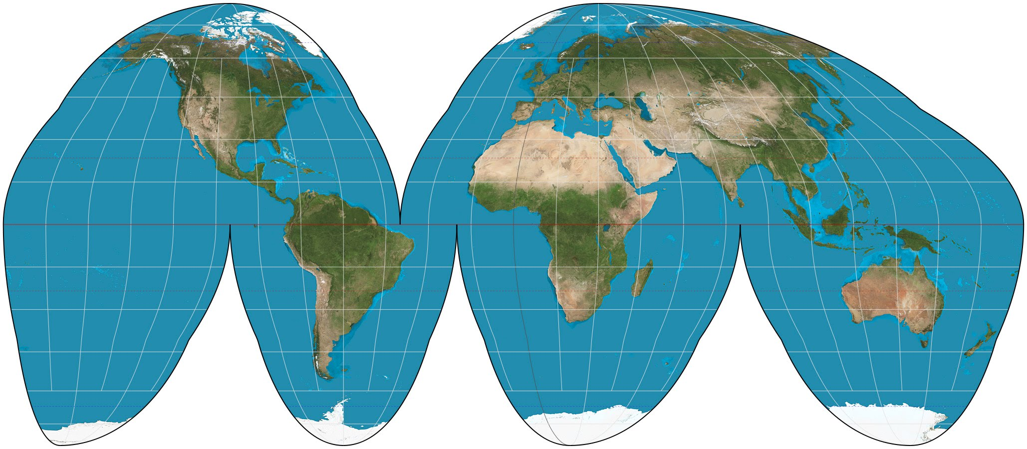 most accurate map projection