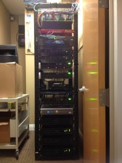 Our new server rack