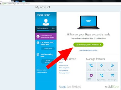 Project Example - Skype