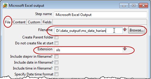 how to get a date output excel