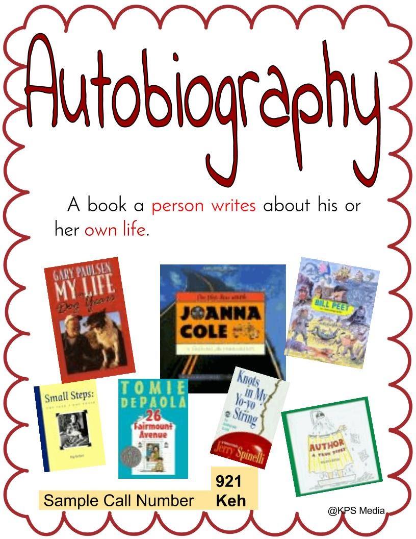 Autobiography genre