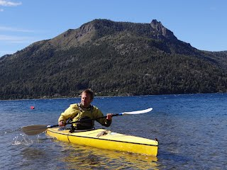 Mr. E in Argentina - Sea Kayaking!