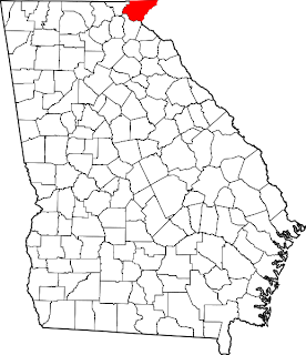 georgia map with county lines Unit History   Genealogy & Local History 2015