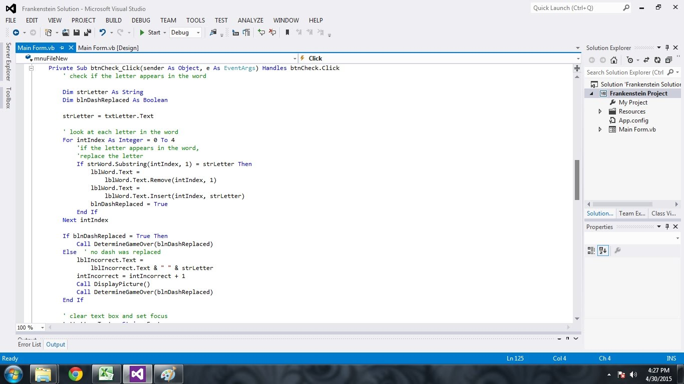 Comt 11002 Visual Basic Programming Jburr1eportfolio