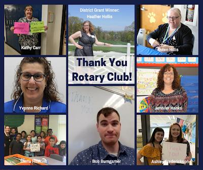 Rotary Grant Recipients