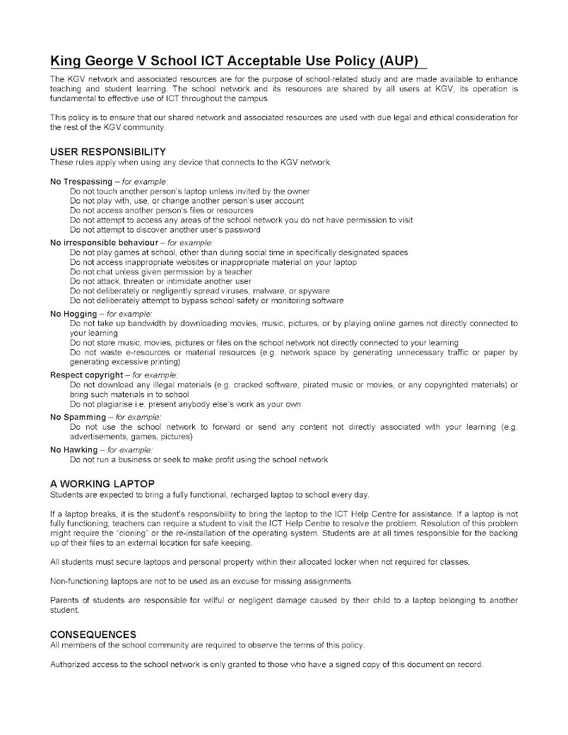 generous ict policy template contemporary resume ideas namanasa