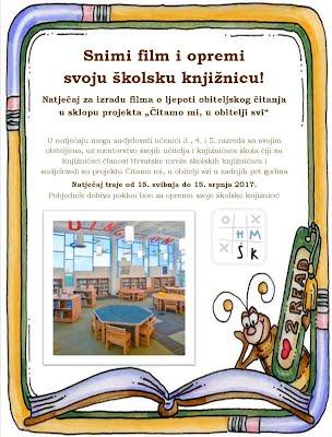 Učinimo zajedno knjižnicu ugodnim mjestom za čitanje!