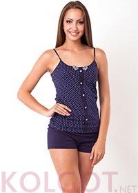 Купить Домашний комплект майка+шорты Peas 02407 <span style='color:#ff0000;'>Распродано</span> (фото 1)