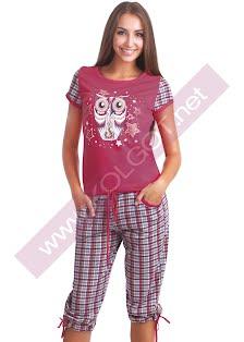 Купить Домашний комплект жемпер + бриджи Night Owl 02304п (фото 2)