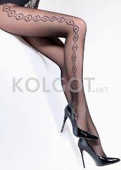 Колготки с рисунком FLORY 40 model 7                    - купить в Украине в магазине kolgot.net (фото 1)