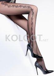 Колготки с рисунком FLORY 40 model 8                    - купить в Украине в магазине kolgot.net (фото 1)